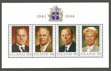Iceland Stamps Sheet