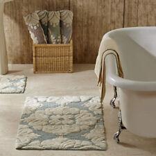 Bathroom Rugs Set of 2 Medallion Plush Cotton Tufted Luxury Bath Mat 4 Colors sm