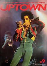 PRINCE Magazine - UPTOWN # 9 Early Issue! Act 1 Definitive Tour Report. Carmen E