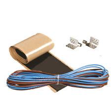 Anschluss Installation Set Kit Kabel Isolierband Quetschverbinder für Heizfolie