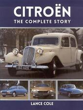 Citroen Complete Story (Traction Avant 2CV DS HY SM Lefebvre Voisin) Buch book