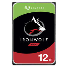 Seagate IronWolf 12TB NAS Internal HDD CMR 3.5in SATA (ST12000VN0008)