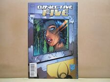 OBJECTIVE FIVE Vol. 1 #1 of 6 2000 IMAGE 9.0 VF/NM Uncertified