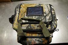 Quantum Radical Solar Bag/ Angeltasche im coolen Realtree- Look mit Solarpanel