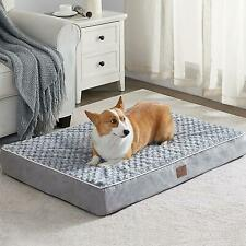 Wnpethome Orthopedic X Large Dog Bed, Dog Bed for Large Dogs with Egg Foam Crate