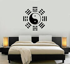 Wall Stickers Vinyl Decal Yin Yang Oriental Chinese Symbol Decor Taiji (ig986)