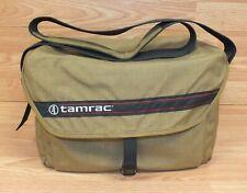 Genuine Vintage Tamrac Brand Large Brown Camera & Accessory Bag / Case **READ**