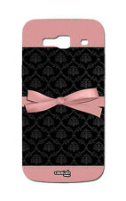 COVER CASE PROTETTIVA NASTRO ROSA NERO PER CELLUL ALCATEL ONE TOUCH POP C9 7047D