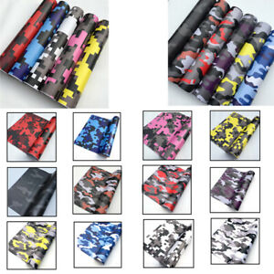 Camouflage Vehicle Car Motorcycle Wrapping Vinyl Film Wrap Sticker Skin 152*50cm