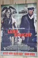 Filmposter Filmplakat DIN A1 59 x 84 cm - Lone Ranger - Johnny Depp - Neu