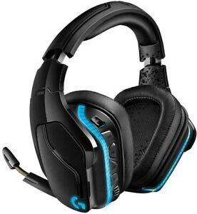 Logitech G935 Gaming Headset 2.4 GHz Wireless 7.1 Surround Sound Pro  - Black