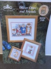 Oliver Otter & Friends Cross Stitch Book - DMC Collections - Kate Veal Originals