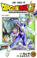 DRAGON BALL SUPER (10) Japanese original version / manga comics