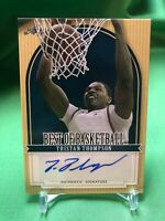 Tristan Thompson 2012 Leaf Best of Basketball Autographed Auto Card
