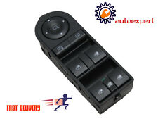 VAUXHALL ASTRA H ZAFIRA B OS DRIVER DOOR WINDOW SWITCH OEM 13228699 CB