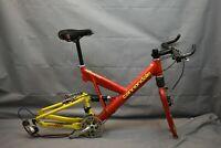 "1997 Cannondale Super V 1000 FS MTB Bike Frame Set 18"" Large Deore USA Charity!"