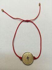 Good Luck Red Cord Kabbalah Stainless Steel lord prayer Circle Of Life Medallion