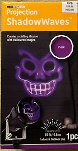 Light show Projection ShadowWaves purple Ghoul by Gemmy - NWT