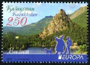 2012 Kazakhstan.CEPT-EUROPE. Visit. Sc. 668. Stamp. MNH