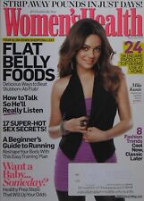 MILA KUNIS September 2009 WOMEN'S HEALTH Magazine