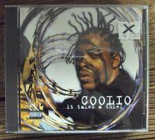 COOLIO It Takes A Thief CD mid-90's gangsta-rap