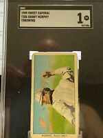 nice graded t 206 cards from 1909-1911(price per card)