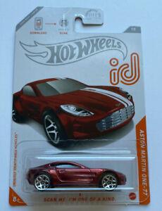 2020 Hot Wheels id Chase Aston Martin One-77