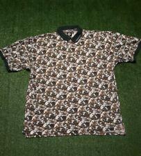 Vintage Tabasco Hot Sauce Polo Golf Shirt Sportswear Men XXL Fits like XL