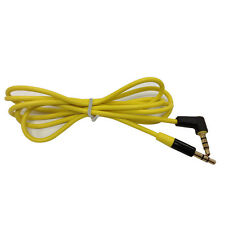 New Replacement Yellow  3.5mm Audio AUX Cable Cord for BEATS STUDIO SOLO PRO