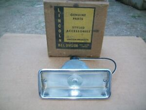 1959 59 Mercury Montclair Monterey Park Lane NOS PARK LAMP