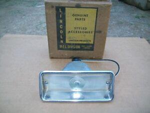 1959 59 Mercury Montclair Monterey Park Lane NOS PARK LAMP
