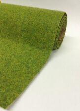 """Grass Mat Hairy Summer Green Mix 120cmx60cm 48""""x24"""" Javis Landscape scenery roll"""