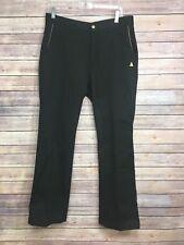 Men's Le Coq Sportif  Golf Collection Solid Black Pants