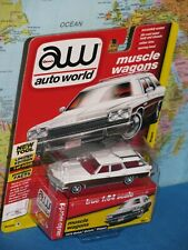 AW AUTO WORLD MUSCLE WAGONS 1975 BUICK ESTATE WAGON #1 **BRAND NEW & RARE**