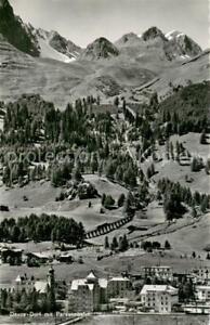 13763706 Davos_Dorf_GR mit Parsennbahn Davos_Dorf_GR