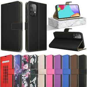 For Samsung Galaxy A52s 5G Wallet Case, Leather Magnetic Flip Stand Phone Cover