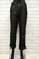 Pantalone Donna MARELLA Taglia Size 46 Jeans Pants Woman Cotone Gamba Dritta