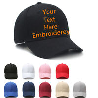 Custom Embroidered Hats Your Own Text Curved Bill Hip Hop Snapback Baseball Hats