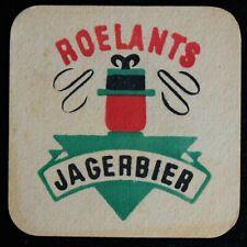 Sous-bock Roelants Jagerbier bierviltje bierdeckel coaster