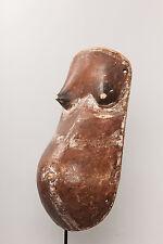 Makonde Fertility Mask, Mozambique, African Tribal Art