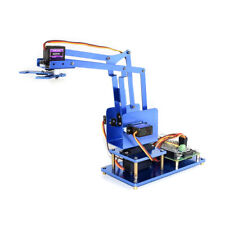 4 Dof Robot Arm Kit Diy Arm For Robotic Raspberry Pi Bluetooth Wifi Remote
