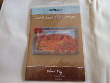 SEMCO - Latch Hook Chart Design - ULURU RUG design leaflet.