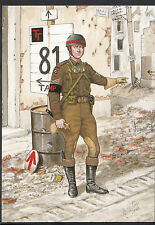 Military Postcard - Sergeant, Corps of Military Police, Holland, 1944 - 5116