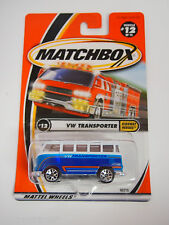 Matchbox VW TRANSPORTER HIGHWAY HEROS