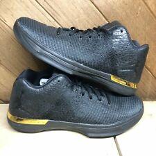 Nike Air Jordan XXXI 31 Low Black/Anthracite-Gold Mens Size 11 897564 023 VNDS