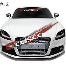 CUSCO Car Front Window Windshield sticker Clear Banner Decal Sticker