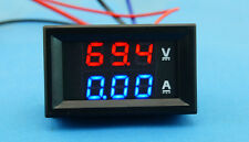 DC 300V/500A digital led Voltmeter Amperemeter Spannung Strom Ampere 12V 24V CAR