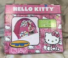 Hello Kitty Sanrio Indoor Outdoor 4'x3' Dome Tent, Gently Used, Excellent!