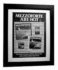 MEZZOFORTE+Surprise+Garden Party+POSTER+AD+ORIGINAL 1983+FRAMED+FAST GLOBAL SHIP