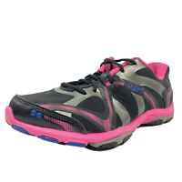 Ryka Influence Womens Cross Trainers Size 8W Black Pink Blue Sneakers